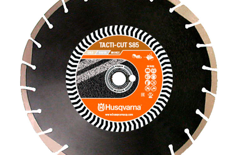 DISCO HUSQVARNA TACTI-CUT S85 DIAMETRO 350 MM